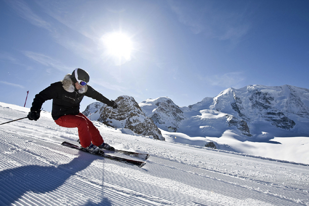 Adventure-persuits-ont-the-slopes-of-St-Moritz-Switzerland-ski-resort-luxury-holiday-Europe