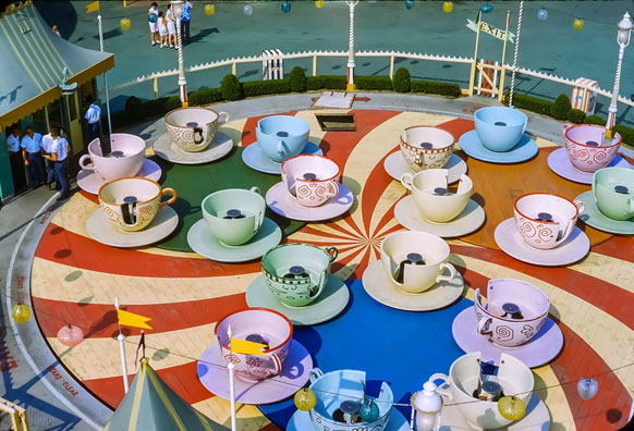 Disneyland tea party