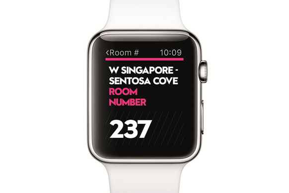 SPG app for Apple Watch
