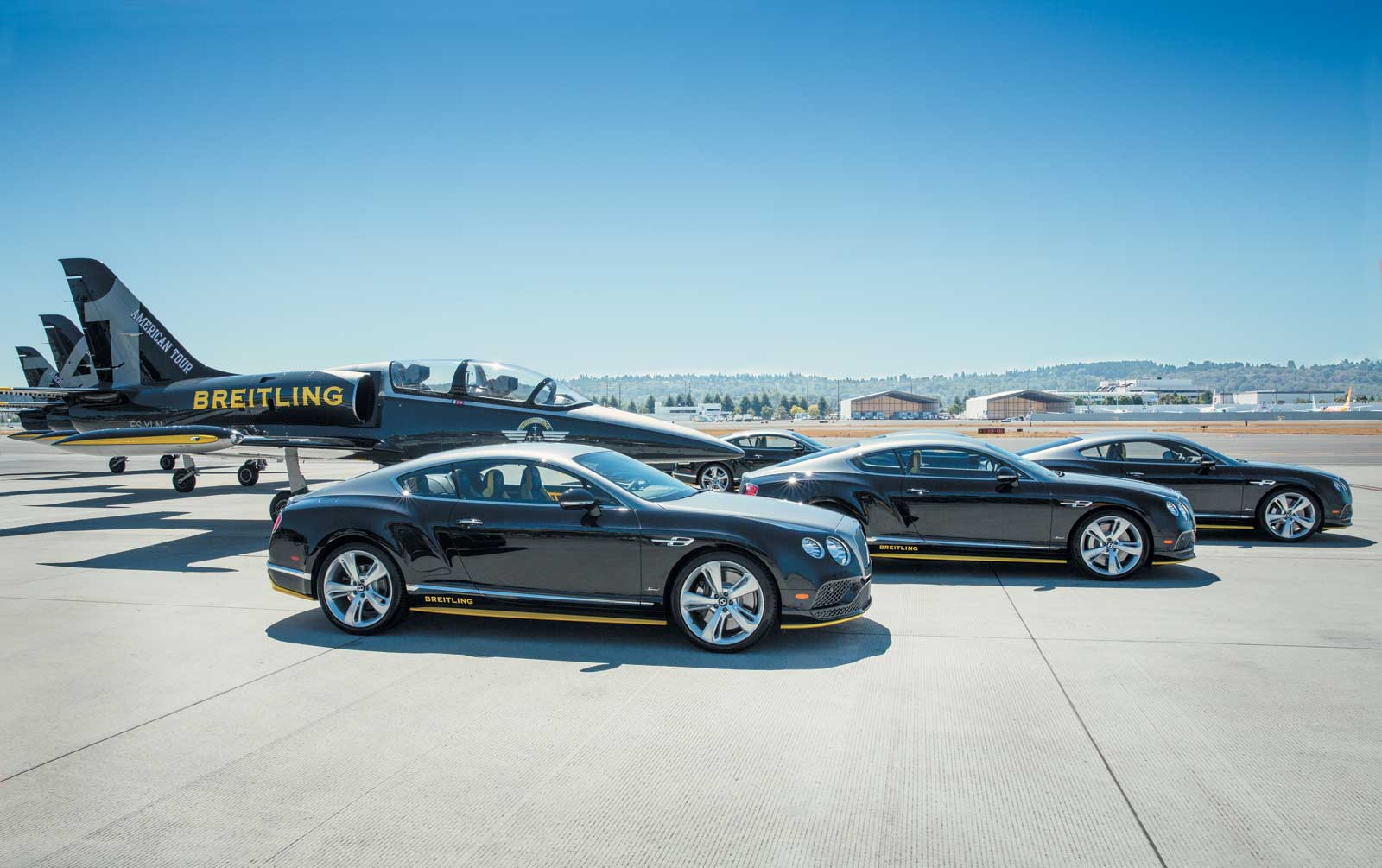Bentley and Breitling Jet Team Series