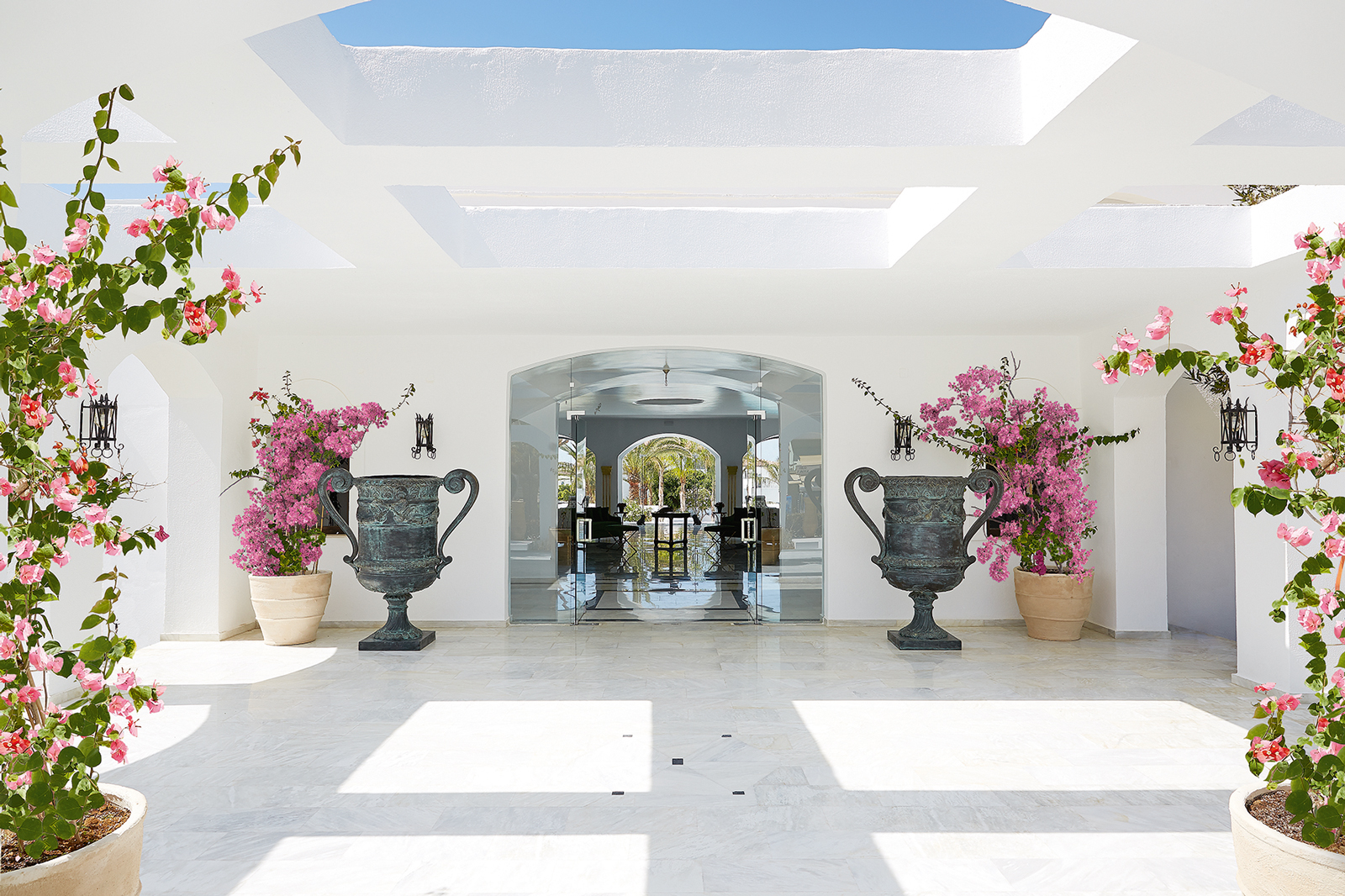 Where to holiday in greece a top european luxury for Boutique hotel elegant