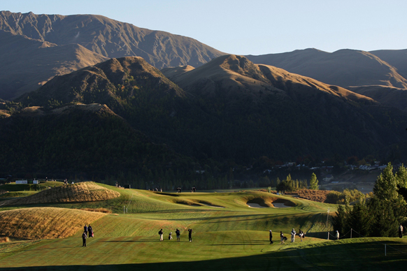 The Hills golf course New Zealand