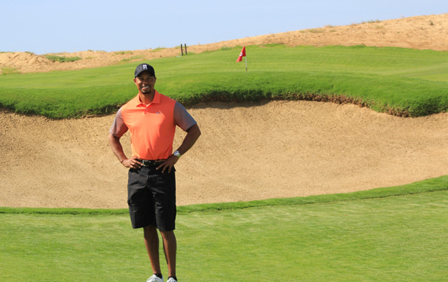 Tiger Woods golf course Dubai by Damac and Trump at Akoya Oxygen