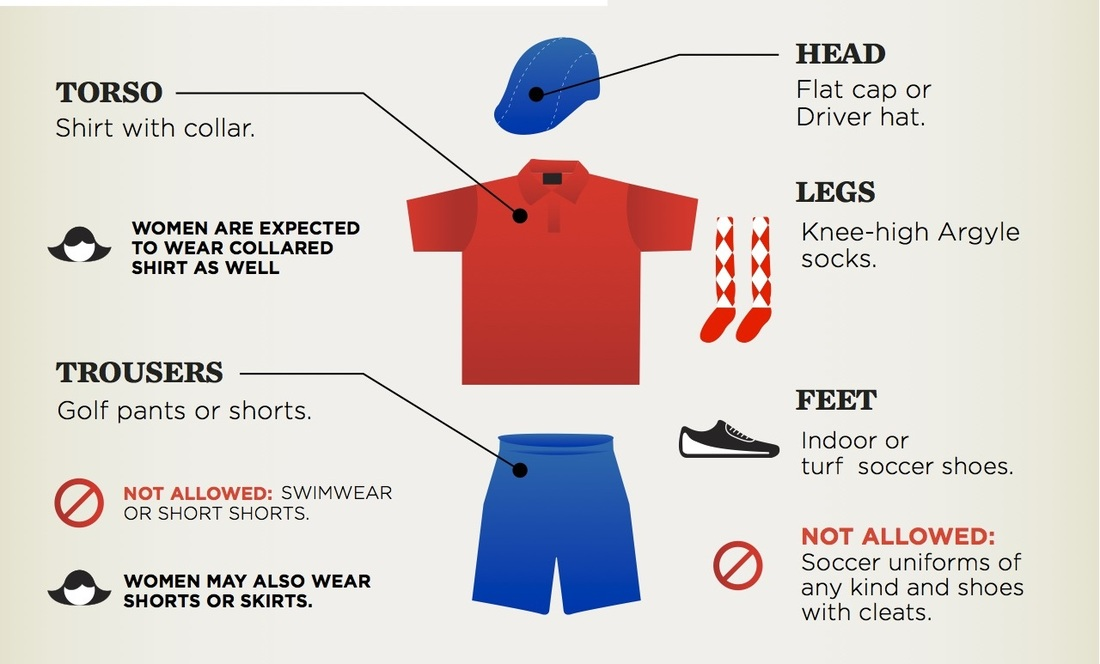 FootGolf uniform