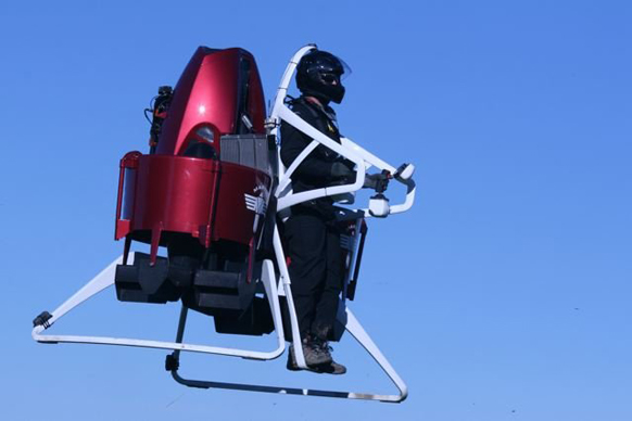 Martin Jetpack test flight