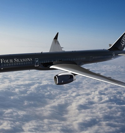 Five-star flying: inside the Four Seasons Private Jet
