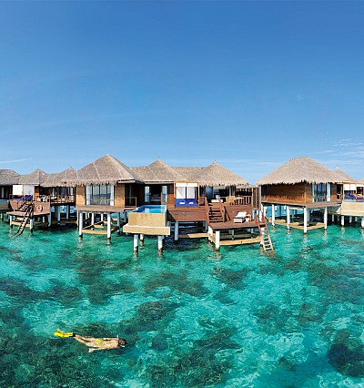 Set your clock to island time in the Maldives