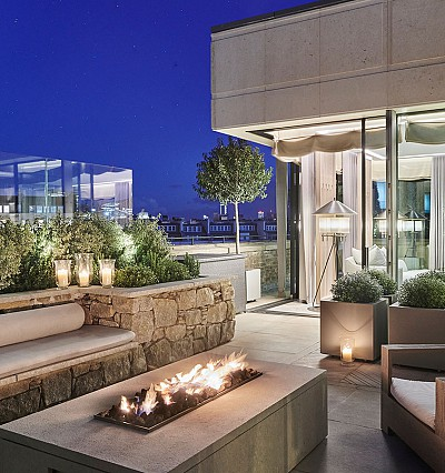 The Berkeley's new Pavilion Suites cost a pretty penny