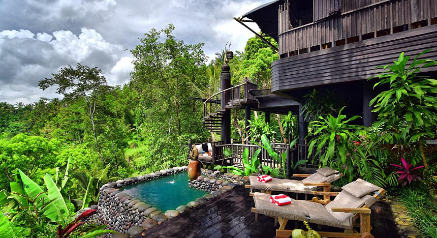 Capella Ubud, Bill Bensley