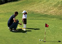 Kids can play too at Guarda Golf in the Swiss Alps