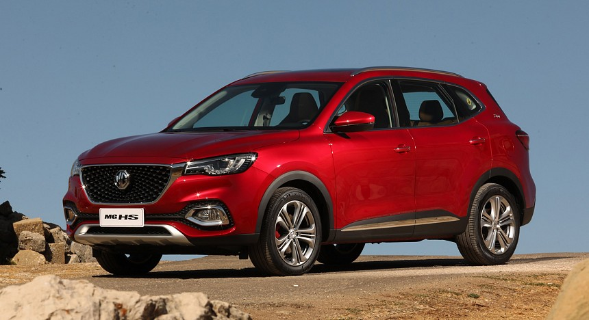 MG, MG HS, Supercar, Middle East launch, Driving, SUV