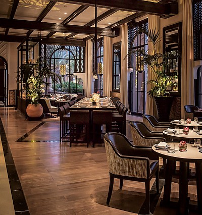 Mandarin Oriental's Michelin-starred popped up in Marrakech