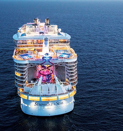 Symphony of the Seas offers the suite life at sea