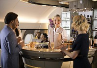 Emirates upgrades its on-board lounge and bar