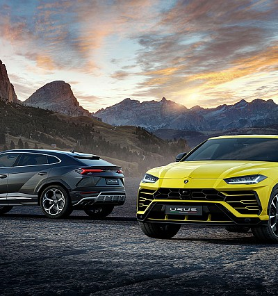 Lamborghini introduces the world's first super-sports SUV