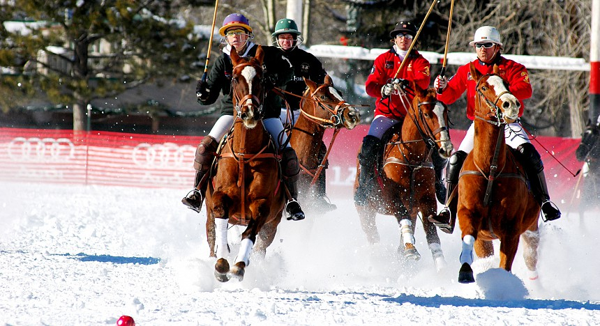 snow polo in aspen