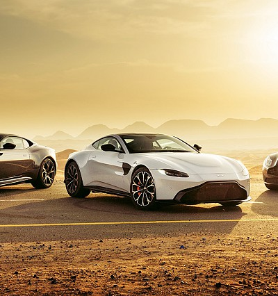 Aston Martin and the Mountain