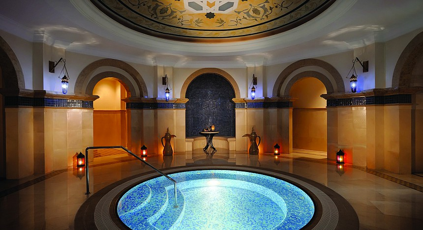 One&Only Royal Mirage Hammam Whirlpool