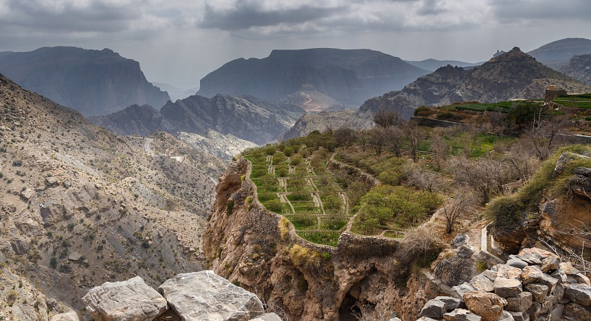 jabal akhdar in oman
