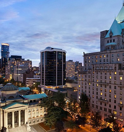 HOTEL INTEL: Fairmont goes for gold in Vancouver