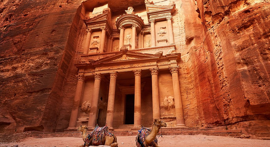 Middle East icon Petra
