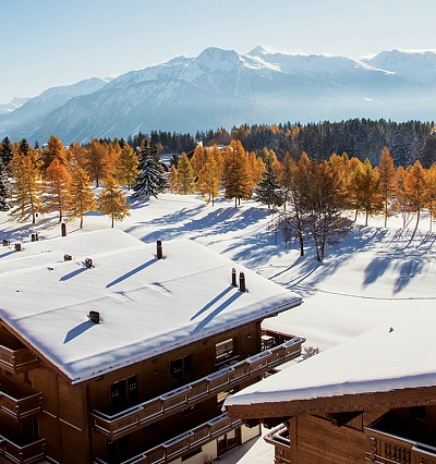 Beyond the green in Switzerland: Guarda Golf Hotel & Residences