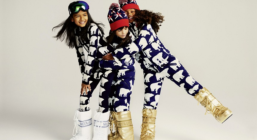 Net-a-Porter, Winter collection, Clothes, Fashion, Kids fashion, Jackets, Hoodies, Style, Winter Wonders, Ski campaign, Kidswear, ski suits, winter woolies, chunky knits, footwear