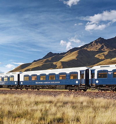Peru on track: Belmond unveils its spa train carriage