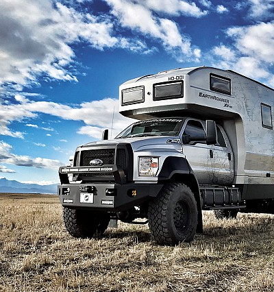 EarthRoamer XV-HD: the ultimate luxe off-road vehicle