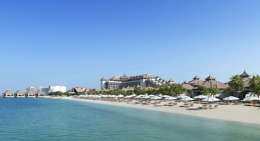 Anantara The Palm Dubai Resort, Dubai, staycation, luxury hotels