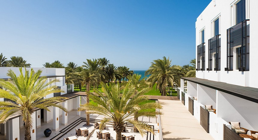 The Chedi Muscat, Oman, Luxury resort in Muscat, Pool, Rooms, Spa, Deluxe Club rooms, Bedroom suite, terraces, award-winning restaurants, luxury travel, Gulf of Oman