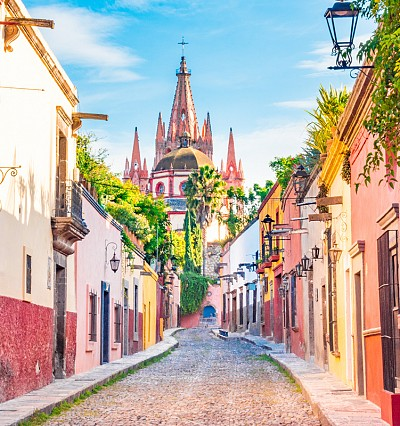 DESTINATIONS: Riding high in Mexico's most colourful city