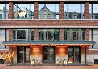 W Amsterdam converts old bank into a hotel extension
