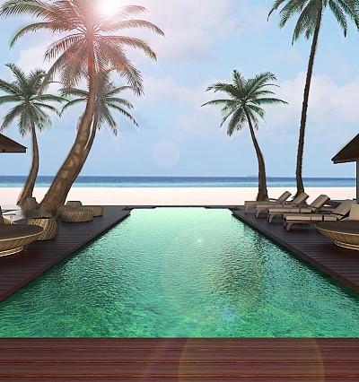 In pictures: a look inside the Jumeirah Vittaveli Royal Residence