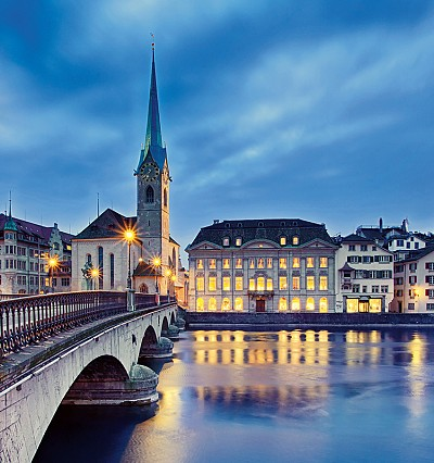 DESTINATION: The hidden depths of Zurich