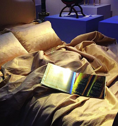 Sleep in 24-carat gold sheets at this hotel