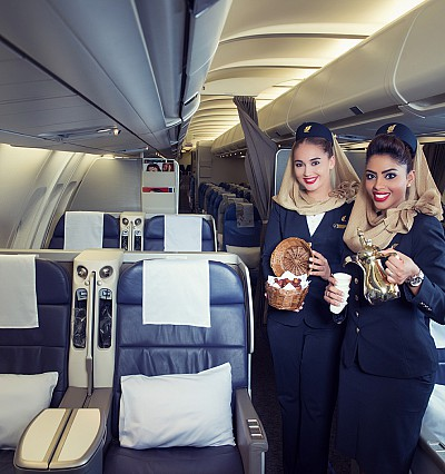 Review: Gulf Air's Falcon Gold Class from Dubai to London