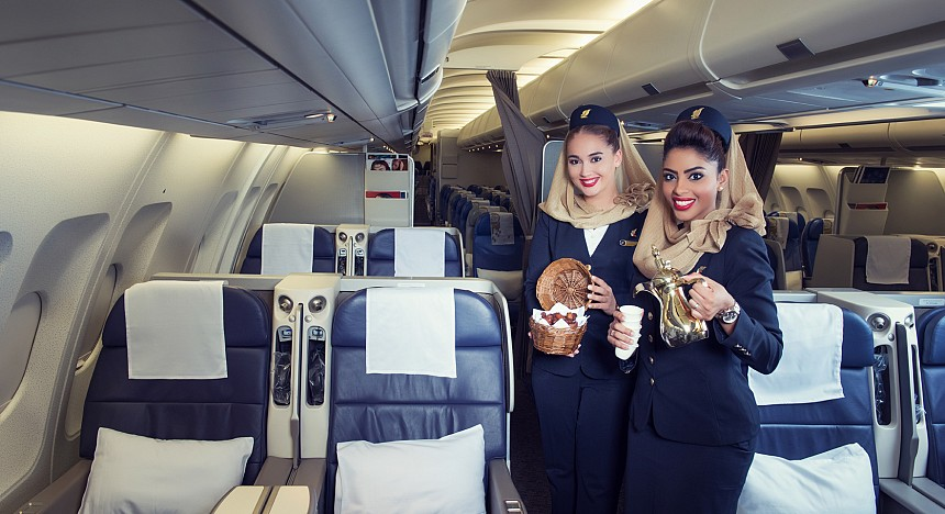 Gulf Air business class review
