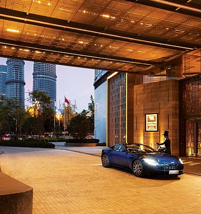 Aston Martin and Waldorf Astoria join forces