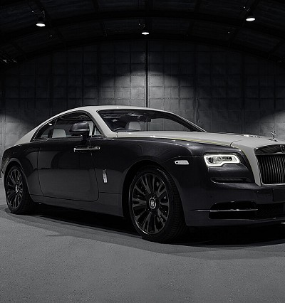 The Eagle has landed: Rolls-Royce unveils latest Wraith