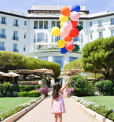 Kids get the VIP treatment at Grand-Hôtel du Cap-Ferrat on the French Riviera