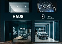 CULTURE: Mercedes-Benz and IWC open the hautest haus in town