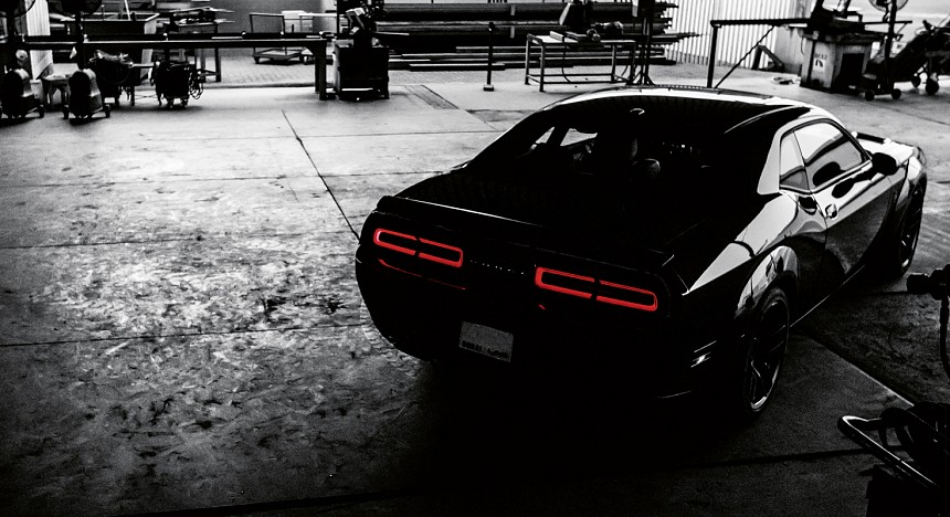 Dodge Challenger SRT Hellcat, Car, Supercars, Black, Speed, Racing, Fast, Drive, Sports cars, Driving