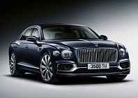 New Bentley flying spur gains electronic steering