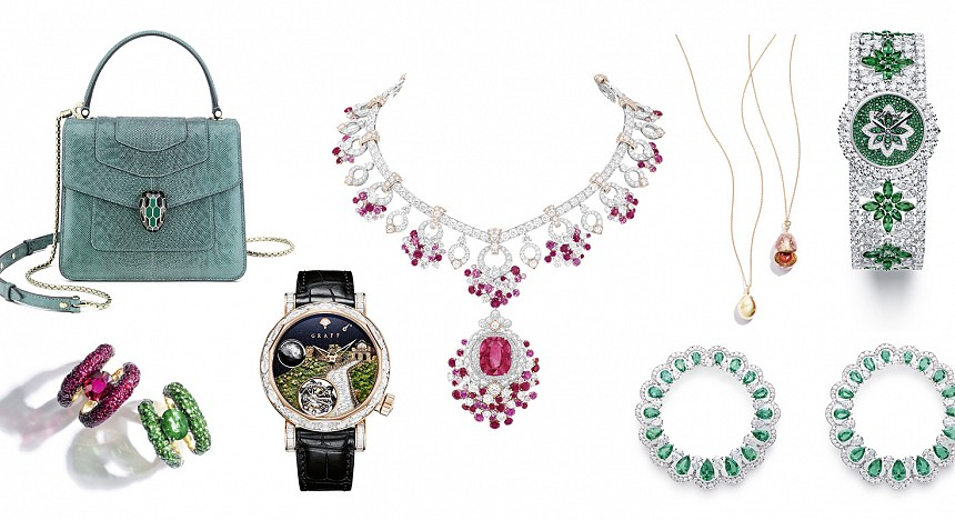 Essentials, Van Cleef & Arpels, Bvlgari, Chopard, Fabergé, Jewellery, Fashion, Necklace, Earrings, Watches