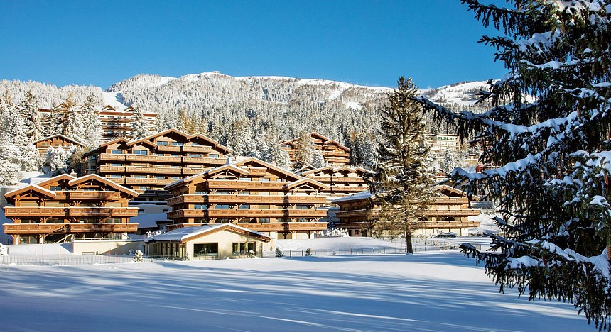 Guarda Golf Hotel & Residences, Switzerland, Villas, Snow, Winter