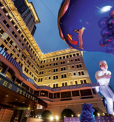 In pictures: Peninsula Hotels celebrates 150 years with 8 epic balloons