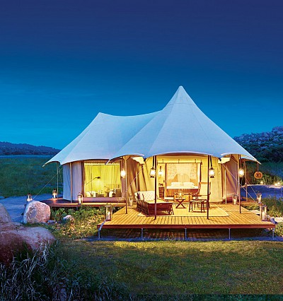 The Ultimate Travelling Camp in India