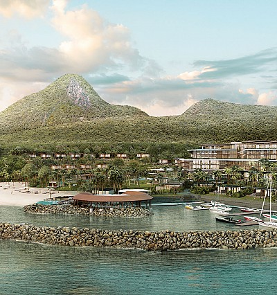 Fairmont announces a lavish resort for Saint Lucia