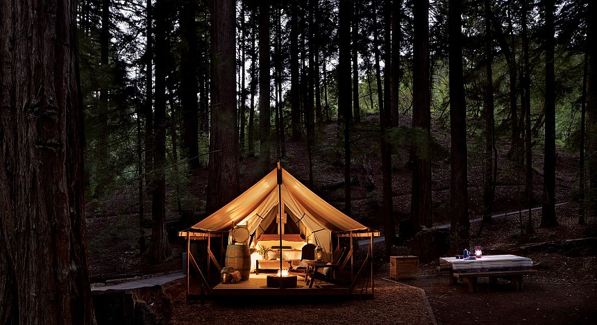 Ventana Big Sur: luxury in the woods